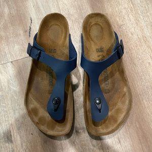 Birkenstock Womens Gizeh Birko-Flor Sandals
